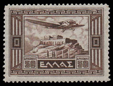 Lot 1013 - GREECE-  AIR-MAIL ISSUES Air-mail issues -  Athens Auctions Public Auction 61 General Stamp Sale
