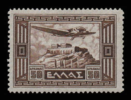Lot 821 - -  AIR-MAIL ISSUES Air-mail issues -  Athens Auctions Public Auction 74 General Stamp Sale