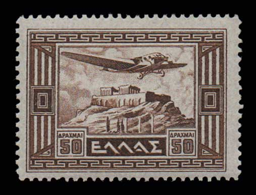 Lot 822 - -  AIR-MAIL ISSUES Air-mail issues -  Athens Auctions Public Auction 74 General Stamp Sale