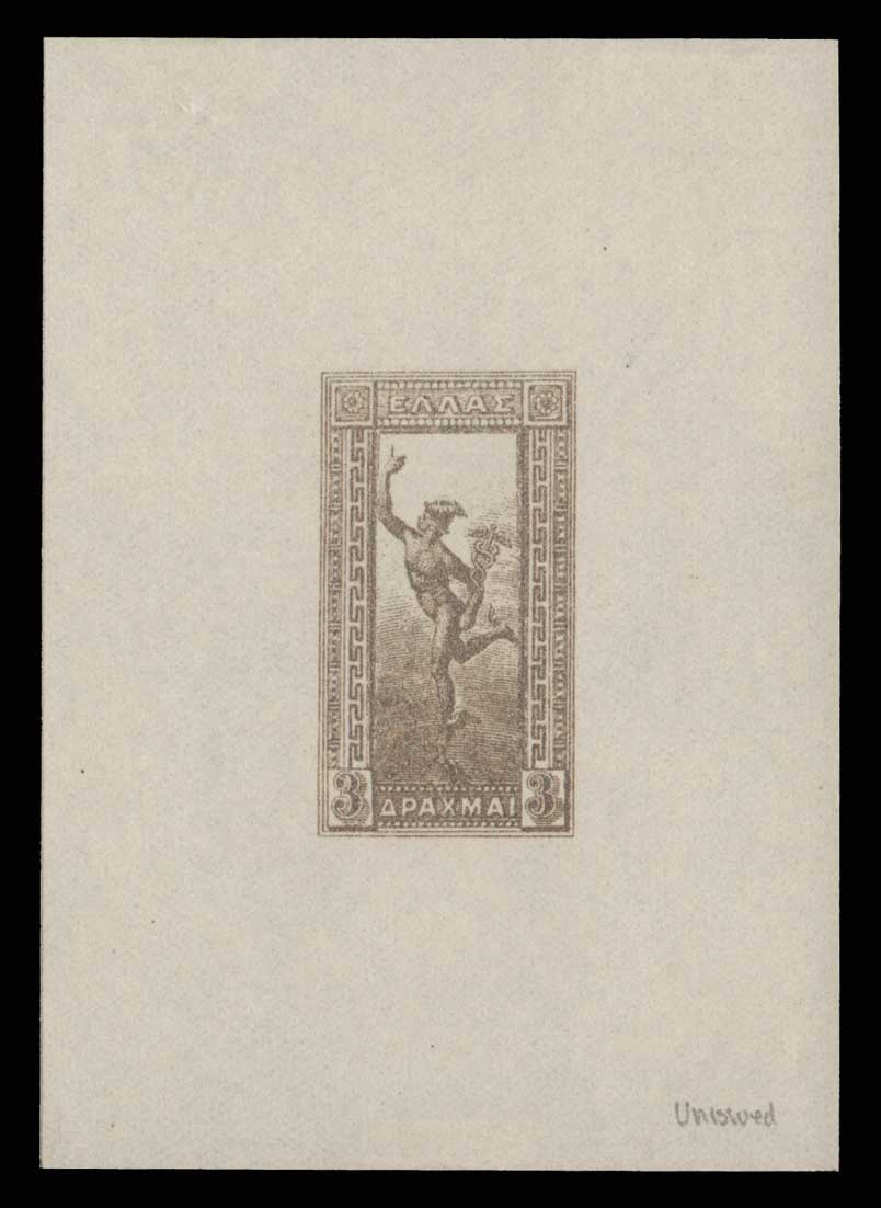 Lot 590 - -  1901/02 FLYING MERCURY & A.M. 1901/02 FLYING MERCURY & A.M. -  Athens Auctions Public Auction 85 General Stamp Sale