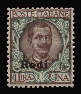 Lot 1093 - -  DODECANESE Dodecanese -  Athens Auctions Public Auction 86 General Stamp Sale