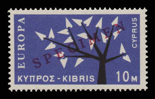 Lot 1378 - -  CYPRUS Cyprus -  Athens Auctions Public Auction 74 General Stamp Sale