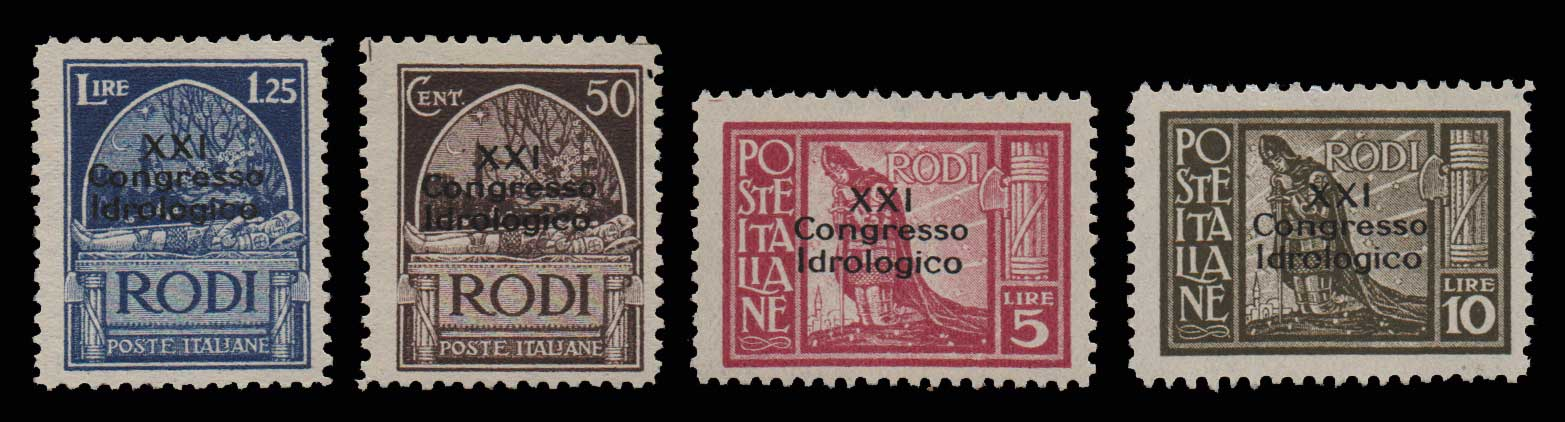 Lot 947 - -  DODECANESE Dodecanese -  Athens Auctions Public Auction 93 General Stamp Sale