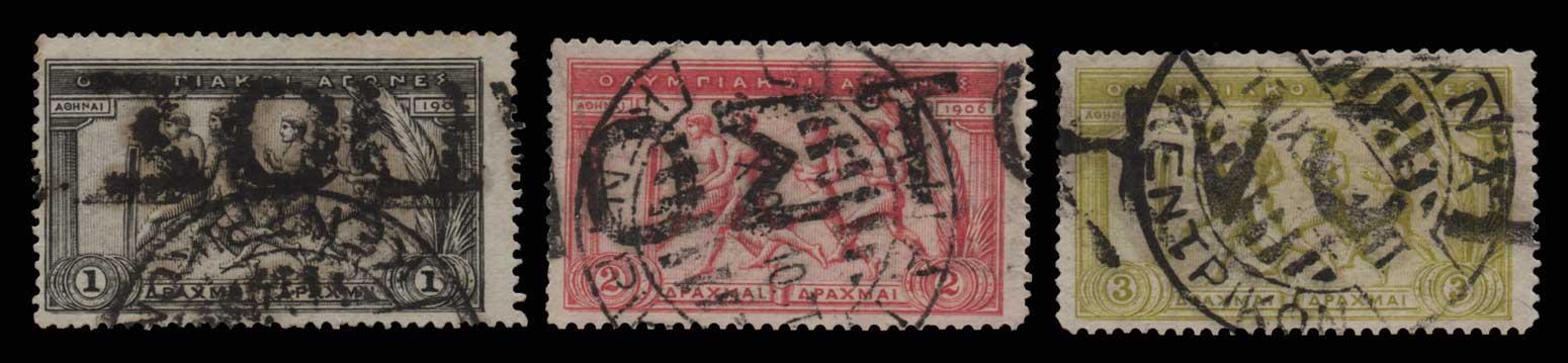 Lot 553 - -  1906 SECOND OLYMPIC GAMES 1906 second olympic games -  Athens Auctions Public Auction 92 General Stamp Sale