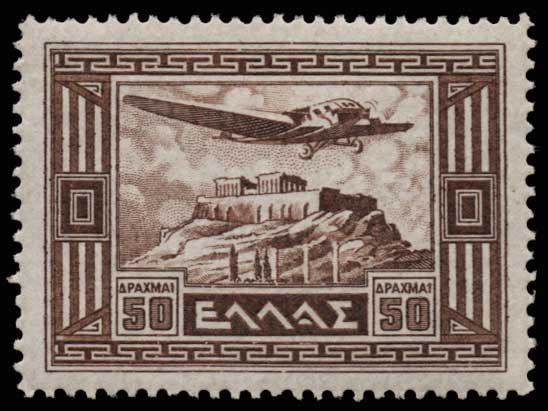 Lot 916 - -  AIR-MAIL ISSUES Air-mail issues -  Athens Auctions Public Auction 70 General Stamp Sale