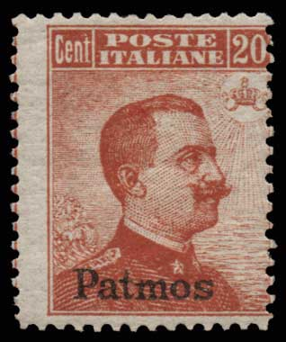 Lot 1066 - GREECE-  DODECANESE Dodecanese -  Athens Auctions Public Auction 63 General Stamp Sale