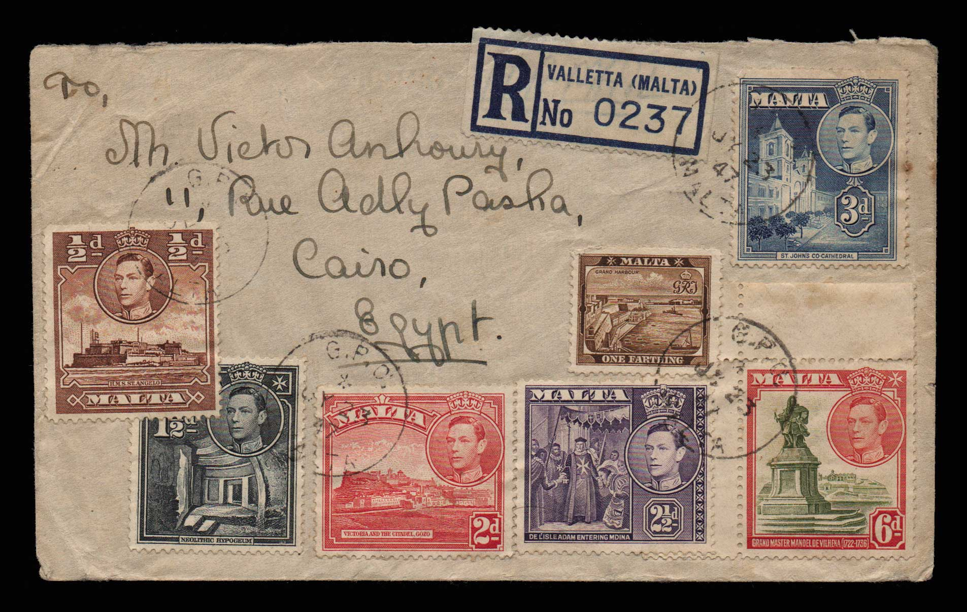 Lot 2122 - - LETTERS & COVERS OF VARIOUS COUNTRIES LETTERS& COVERS OF VARIOUS COUNTRIES -  Athens Auctions Public Auction 87 General Stamp Sale