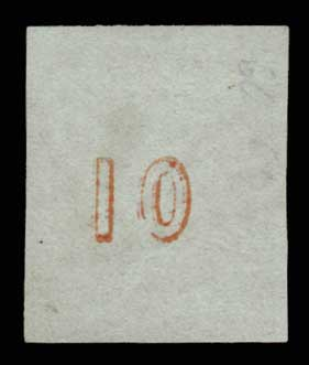 Lot 114 - GREECE-  LARGE HERMES HEAD 1861/1862 athens provisional printings -  Athens Auctions Public Auction 63 General Stamp Sale