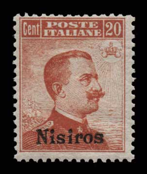 Lot 1063 - GREECE-  DODECANESE Dodecanese -  Athens Auctions Public Auction 63 General Stamp Sale