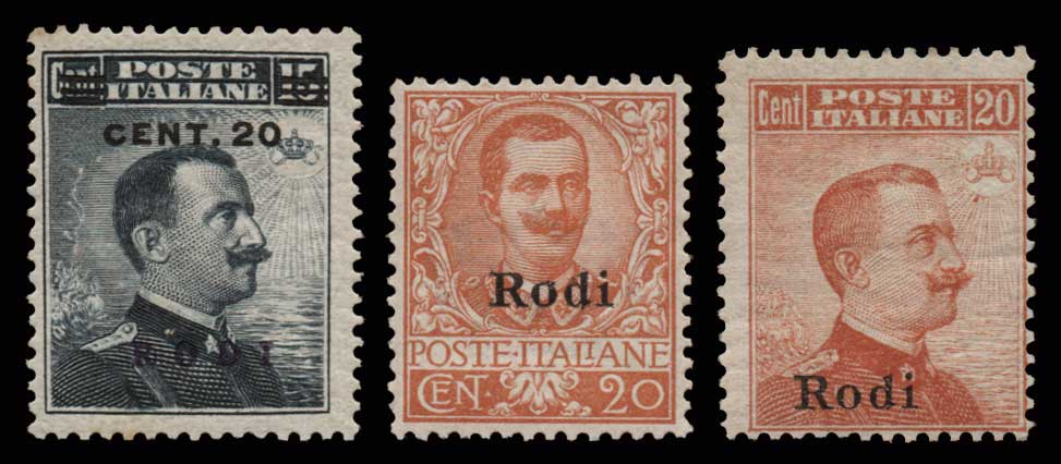 Lot 1067 - GREECE-  DODECANESE Dodecanese -  Athens Auctions Public Auction 63 General Stamp Sale