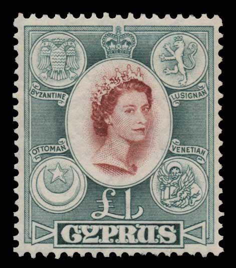Lot 1387 - -  CYPRUS Cyprus -  Athens Auctions Public Auction 76 General Stamp Sale