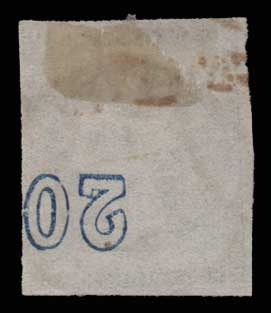 Lot 246 - -  LARGE HERMES HEAD 1870 special athens printing -  Athens Auctions Public Auction 84 General Stamp Sale