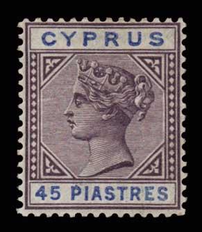 Lot 1379 - -  CYPRUS Cyprus -  Athens Auctions Public Auction 76 General Stamp Sale