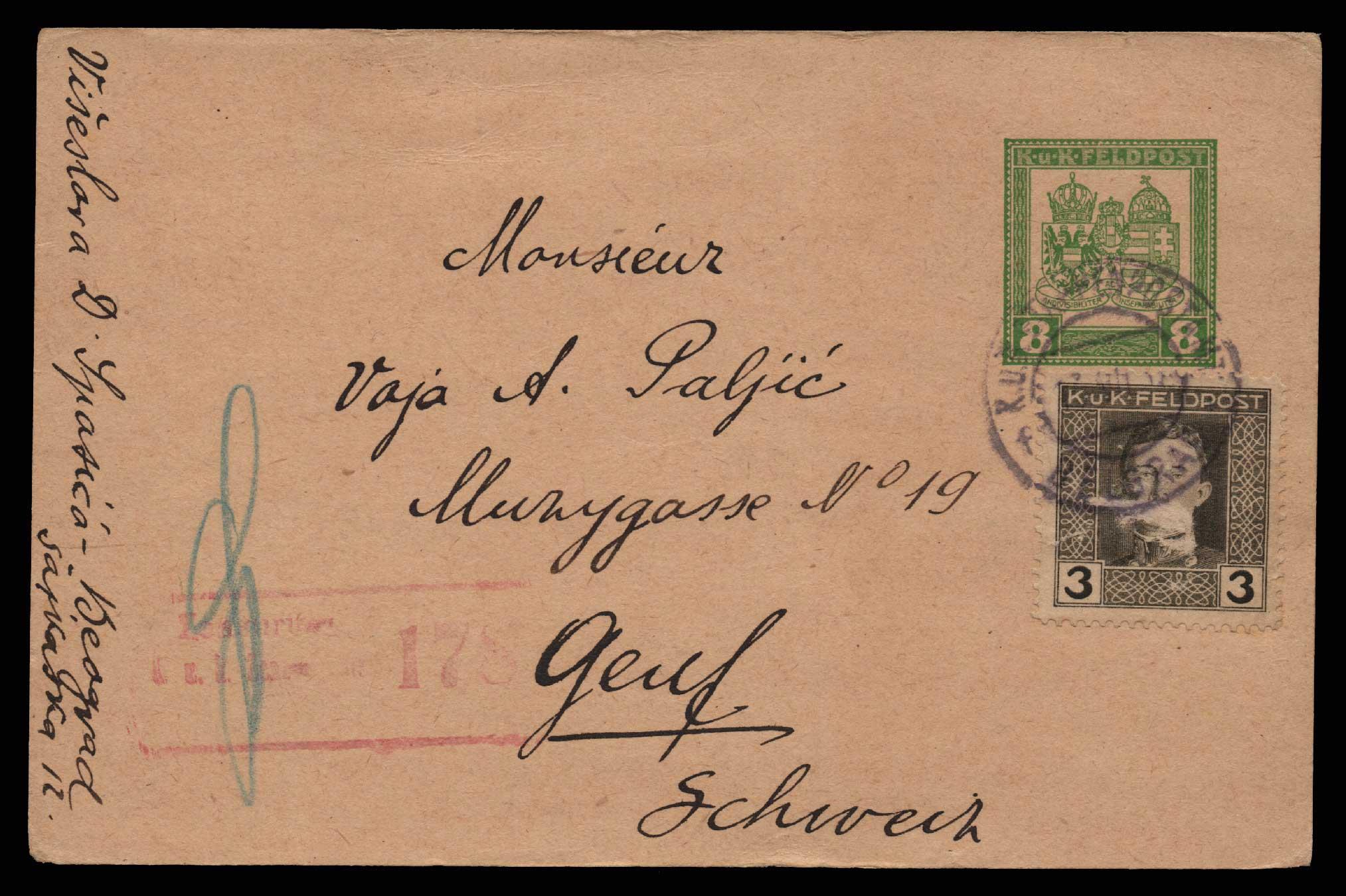Lot 1466 - -  CENSORSHIPS censorships -  Athens Auctions Public Auction 69 General Stamp Sale