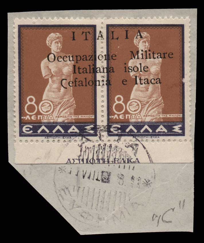 Lot 1288 - -  IONIAN ISLANDS Ionian Islands -  Athens Auctions Public Auction 69 General Stamp Sale