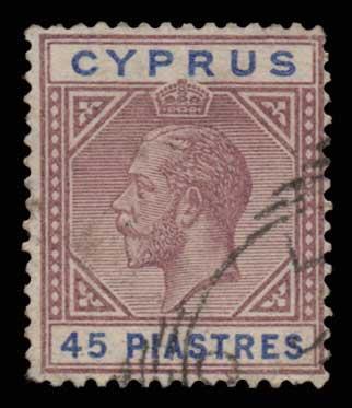 Lot 1380 - -  CYPRUS Cyprus -  Athens Auctions Public Auction 76 General Stamp Sale