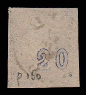 Lot 399 - -  LARGE HERMES HEAD 1875/80 cream paper -  Athens Auctions Public Auction 77 General Stamp Sale