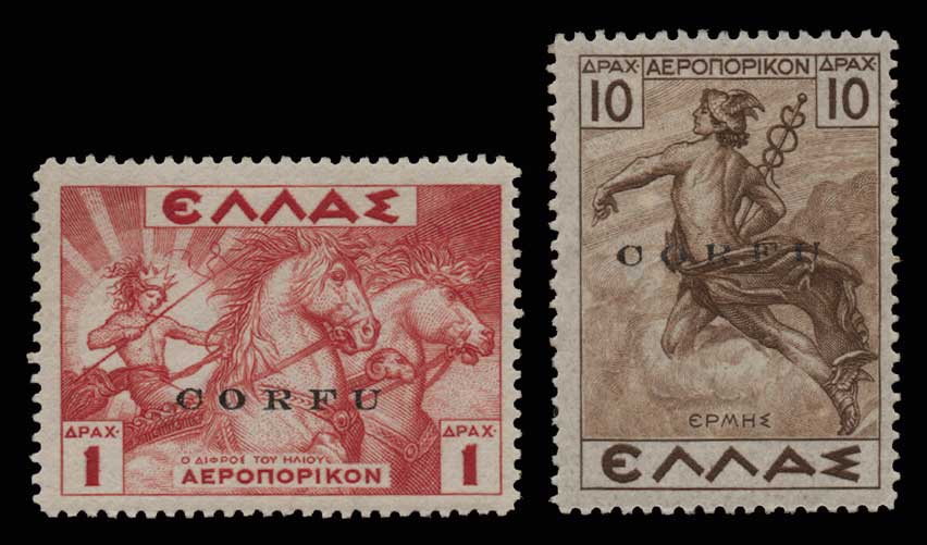 Lot 1211 - -  IONIAN ISLANDS Ionian Islands -  Athens Auctions Public Auction 86 General Stamp Sale