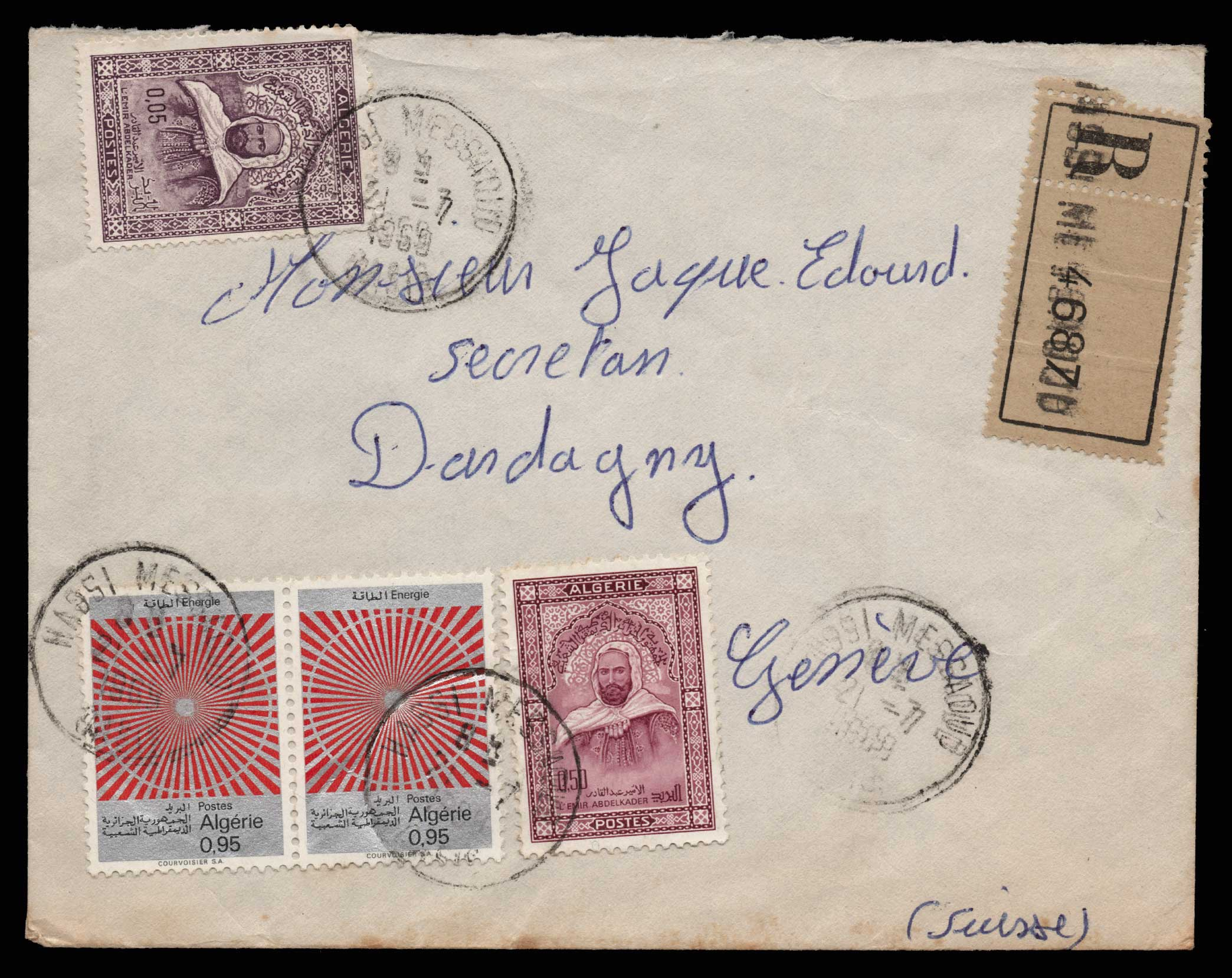 Lot 1960 - - LETTERS & COVERS OF VARIOUS COUNTRIES LETTERS& COVERS OF VARIOUS COUNTRIES -  Athens Auctions Public Auction 75 General Stamp Sale