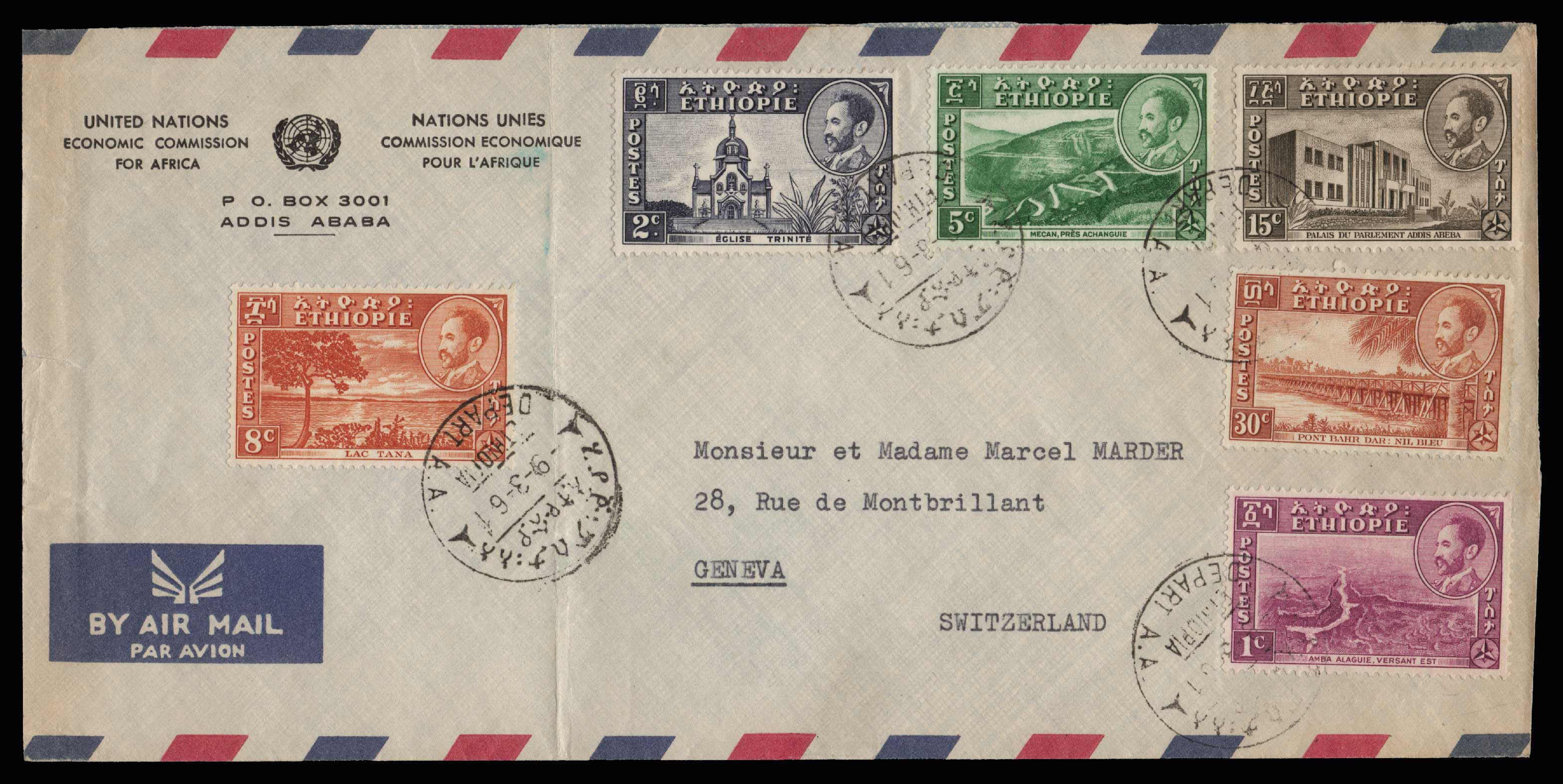 Lot 1966 - - LETTERS & COVERS OF VARIOUS COUNTRIES LETTERS& COVERS OF VARIOUS COUNTRIES -  Athens Auctions Public Auction 75 General Stamp Sale