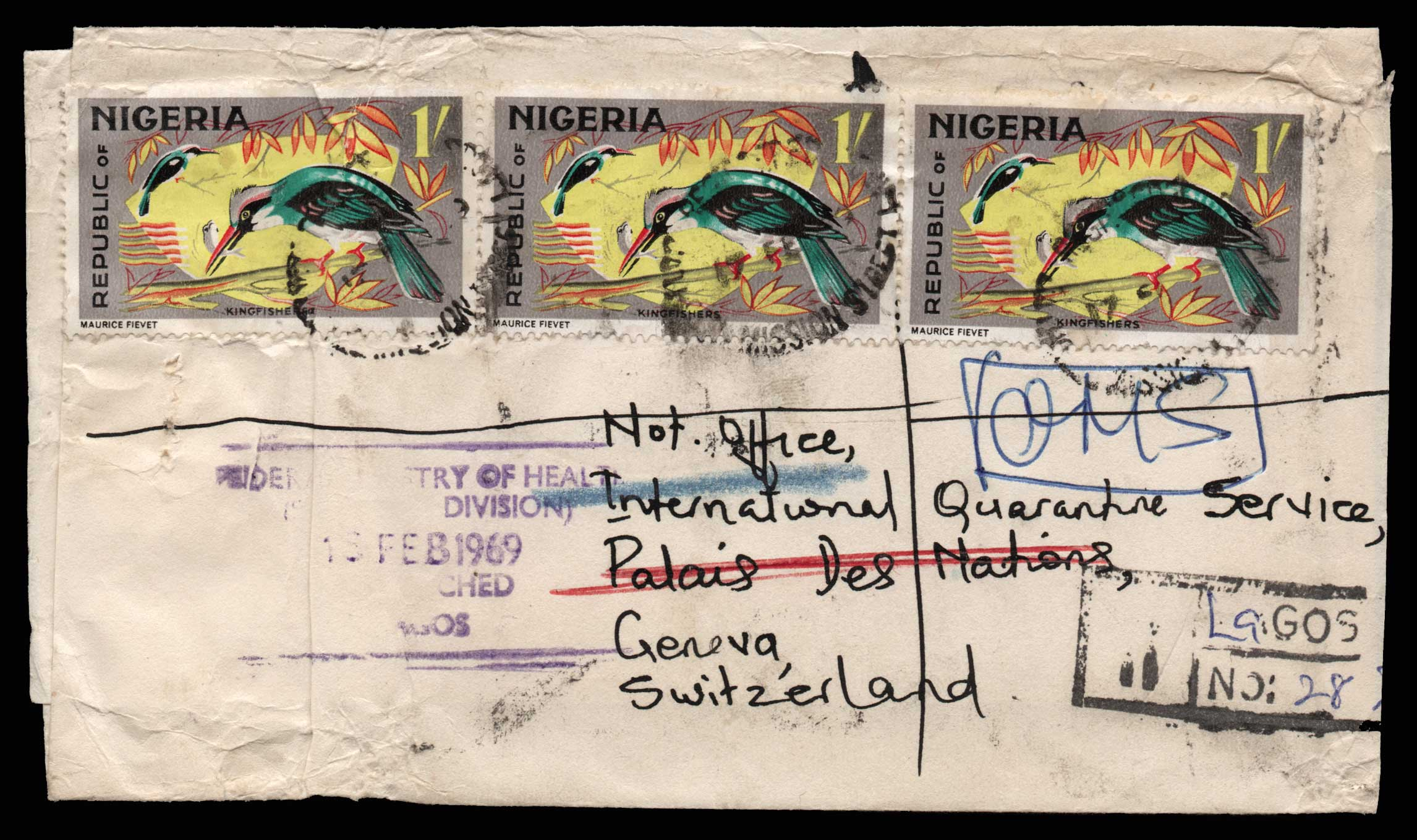 Lot 1973 - - LETTERS & COVERS OF VARIOUS COUNTRIES LETTERS& COVERS OF VARIOUS COUNTRIES -  Athens Auctions Public Auction 75 General Stamp Sale