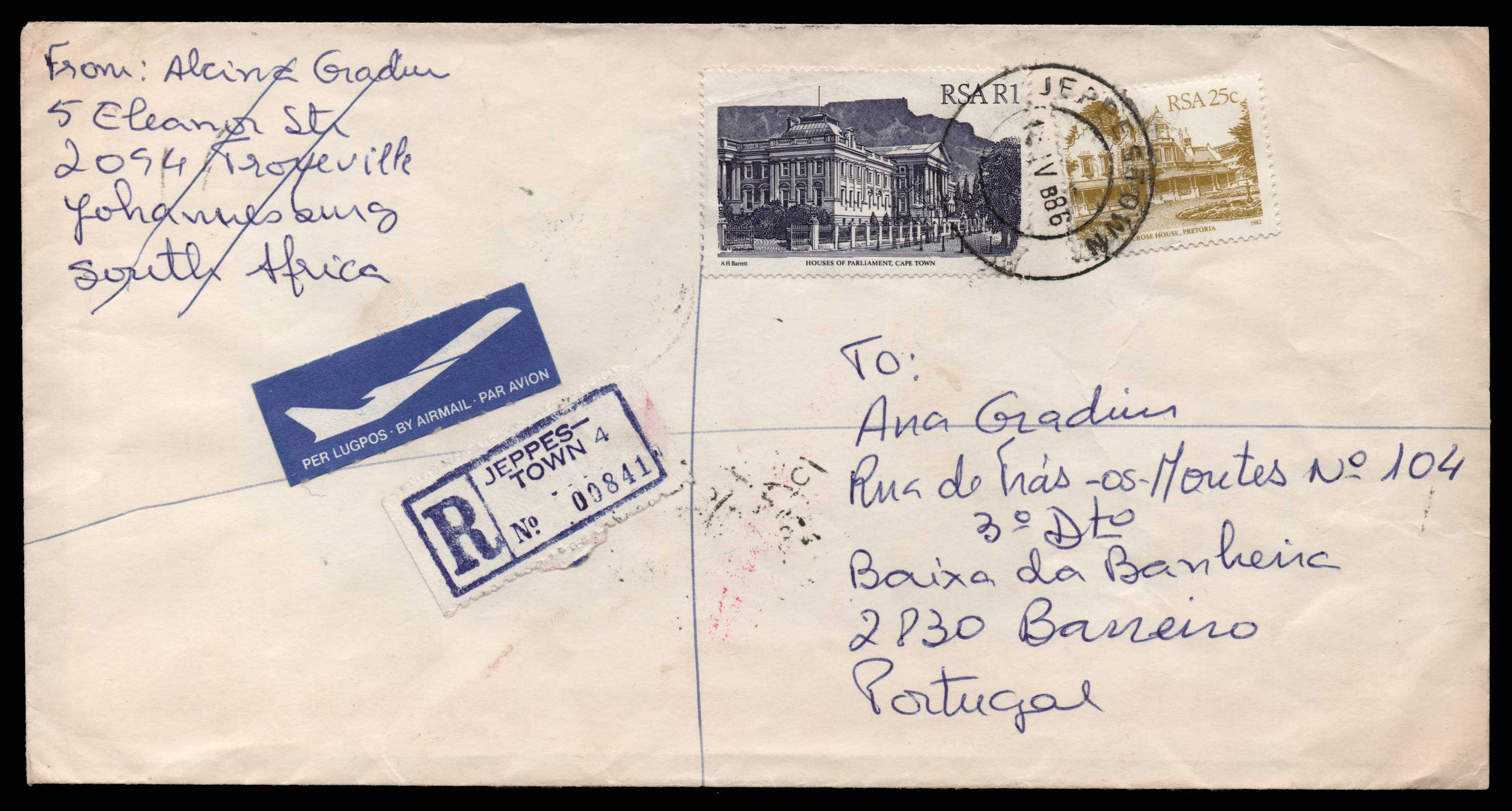 Lot 1977 - - LETTERS & COVERS OF VARIOUS COUNTRIES LETTERS& COVERS OF VARIOUS COUNTRIES -  Athens Auctions Public Auction 75 General Stamp Sale