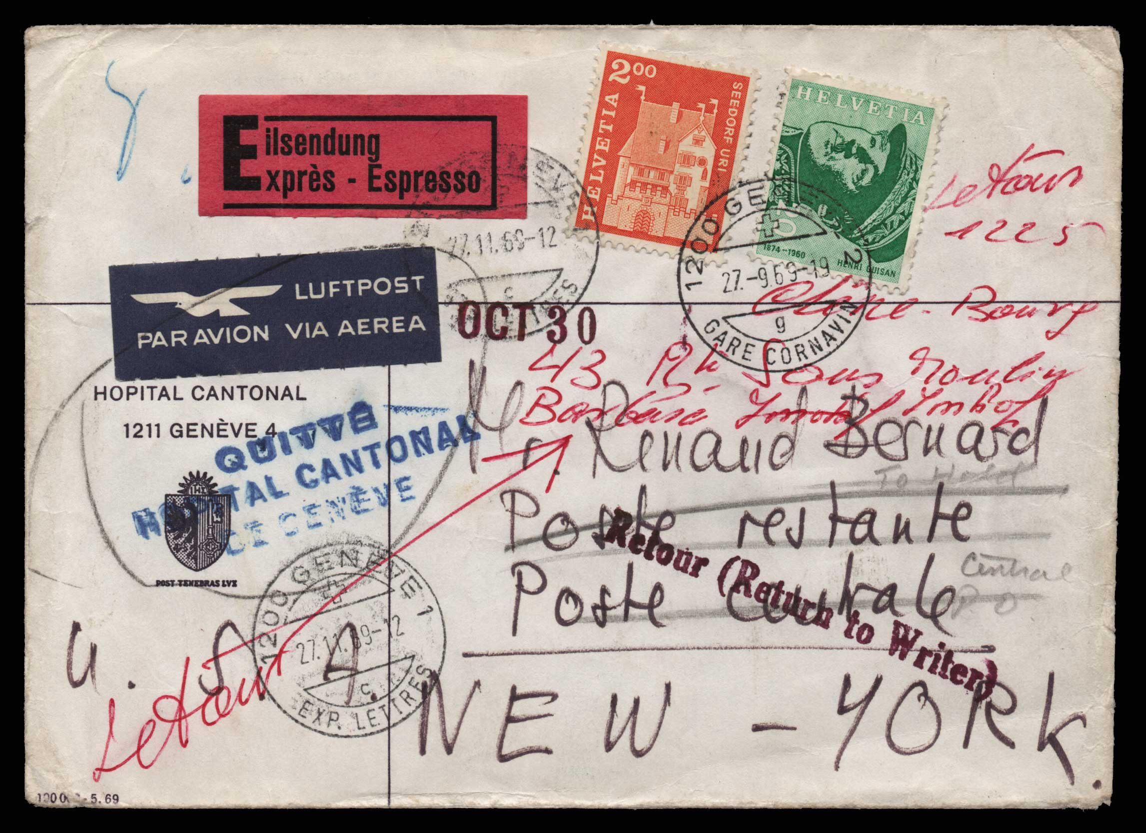Lot 1980 - - LETTERS & COVERS OF VARIOUS COUNTRIES LETTERS& COVERS OF VARIOUS COUNTRIES -  Athens Auctions Public Auction 75 General Stamp Sale