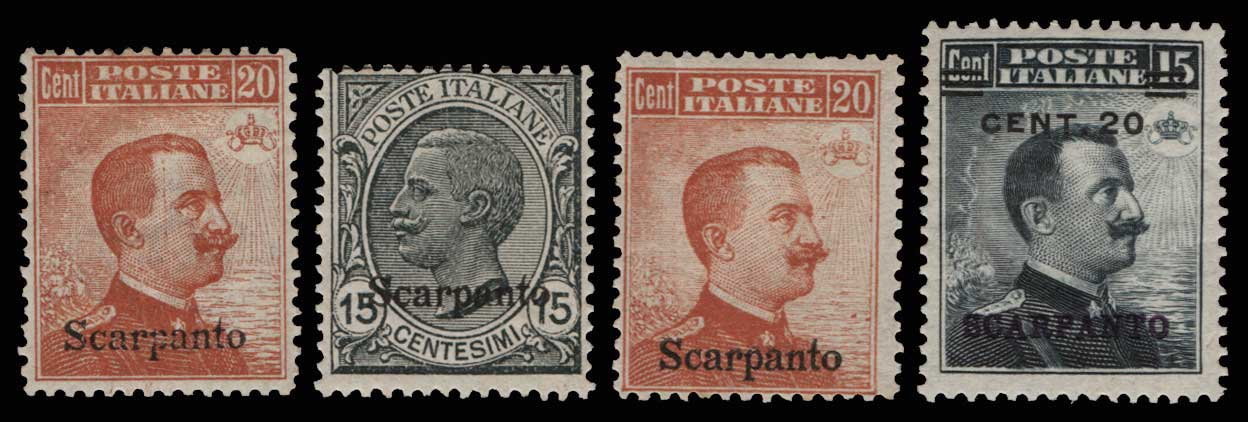 Lot 1092 - -  DODECANESE Dodecanese -  Athens Auctions Public Auction 84 General Stamp Sale