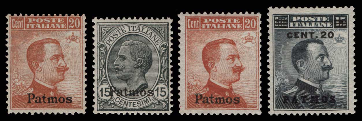 Lot 1056 - -  DODECANESE Dodecanese -  Athens Auctions Public Auction 80