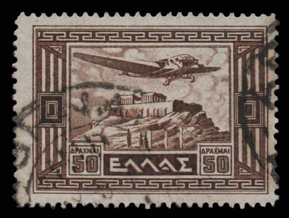 Lot 892 - -  AIR-MAIL ISSUES Air-mail issues -  Athens Auctions Public Auction 88 General Stamp Sale