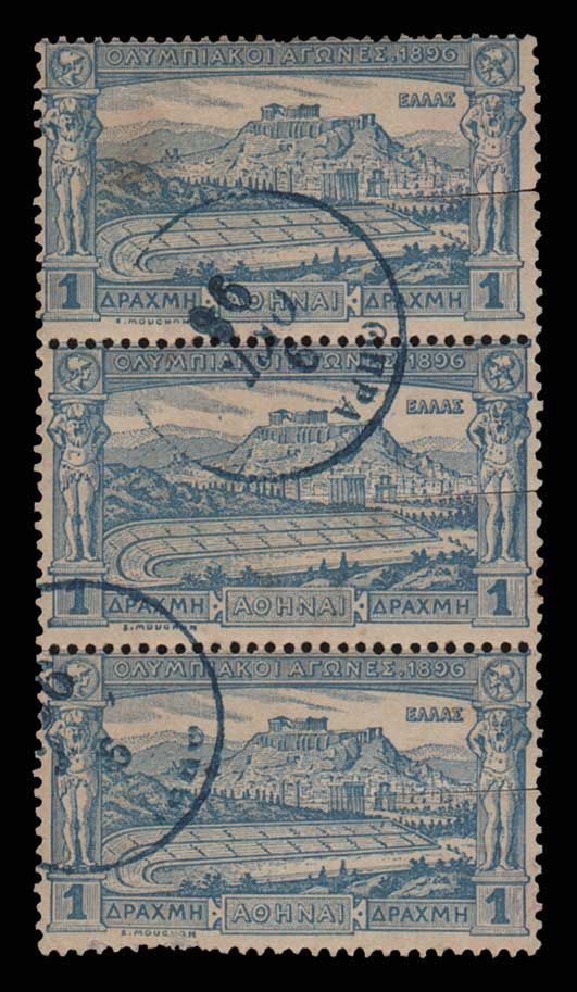 Lot 385 - -  1896 FIRST OLYMPIC GAMES 1896 first olympic games -  Athens Auctions Public Auction 89 General Stamp Sale