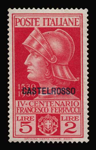 Lot 1160 - -  DODECANESE Dodecanese -  Athens Auctions Public Auction 92 General Stamp Sale