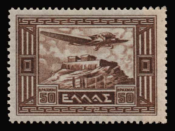 Lot 940 - -  AIR-MAIL ISSUES Air-mail issues -  Athens Auctions Public Auction 86 General Stamp Sale