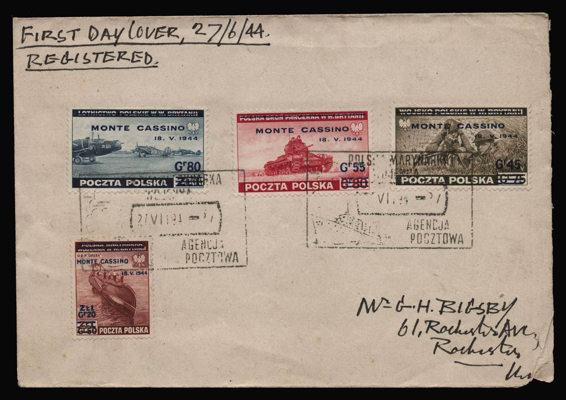 Lot 2125 - - LETTERS & COVERS OF VARIOUS COUNTRIES LETTERS& COVERS OF VARIOUS COUNTRIES -  Athens Auctions Public Auction 87 General Stamp Sale