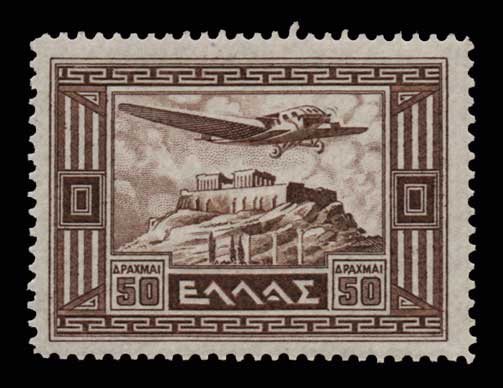 Lot 890 - -  AIR-MAIL ISSUES Air-mail issues -  Athens Auctions Public Auction 88 General Stamp Sale