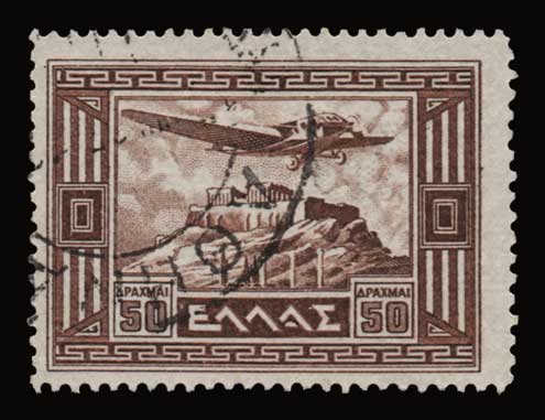 Lot 799 - -  AIR-MAIL ISSUES Air-mail issues -  Athens Auctions Public Auction 89 General Stamp Sale