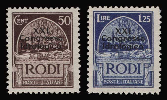 Lot 1154 - -  DODECANESE Dodecanese -  Athens Auctions Public Auction 92 General Stamp Sale