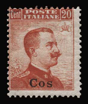 Lot 1128 - -  DODECANESE Dodecanese -  Athens Auctions Public Auction 91 General Stamp Sale