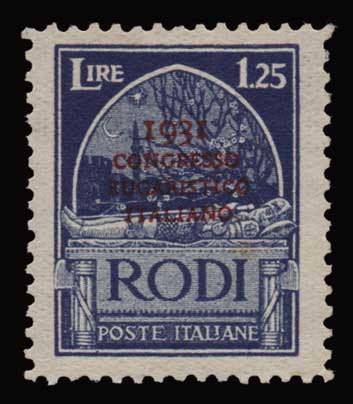 Lot 1154 - -  DODECANESE Dodecanese -  Athens Auctions Public Auction 91 General Stamp Sale