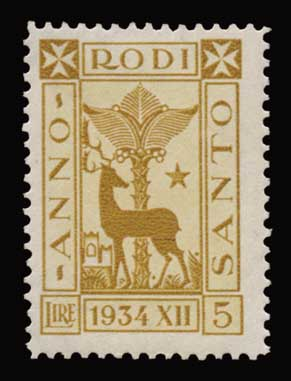 Lot 1170 - -  DODECANESE Dodecanese -  Athens Auctions Public Auction 91 General Stamp Sale