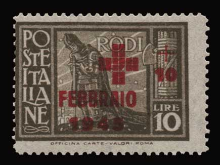 Lot 1181 - -  DODECANESE Dodecanese -  Athens Auctions Public Auction 91 General Stamp Sale