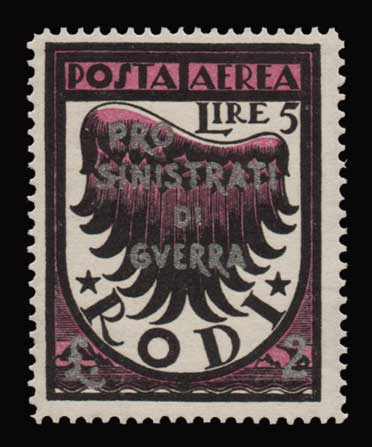 Lot 1182 - -  DODECANESE Dodecanese -  Athens Auctions Public Auction 91 General Stamp Sale
