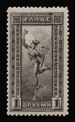 Lot 481 - -  1901/02 FLYING MERCURY & A.M. 1901/02 FLYING MERCURY & A.M. -  Athens Auctions Public Auction 93 General Stamp Sale
