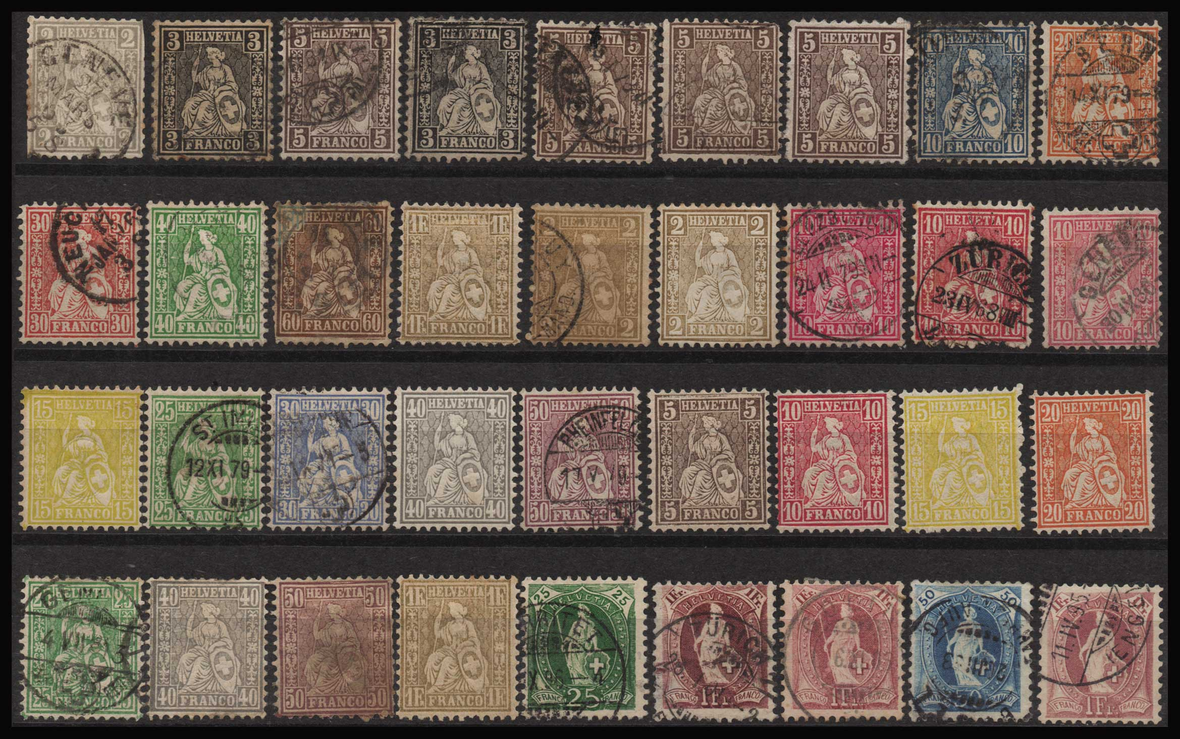 Lot 2131 - - COLLECTIONS collections -  Athens Auctions Public Auction 92 General Stamp Sale